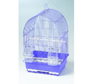 Клетка для птиц Круглая крыша 35*28*46