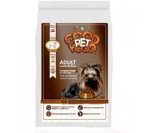 Сбалансированный сухой корм для взрослых собак c ягненком и рисом Good Pet food Dogs ADULT Lamb & Rice