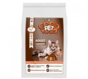 Сбалансированный сухой корм для взрослых кошек Good Pet food Cats ADULT