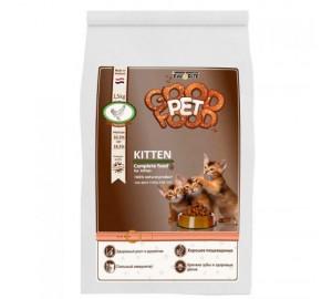 Сбалансированный сухой корм для котят Good Pet food Cats KITTEN