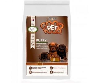 Сбалансированный сухой корм для щенков, беременных и кормящих сук Good Pet food Dogs PUPPY