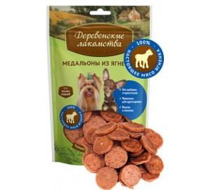 Деревенские лакомства. Лакомство для собак мини-пород: медальоны из ягненка