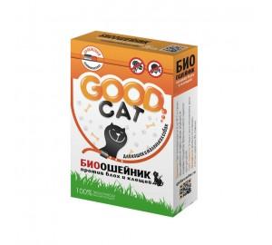 GOOD CAT. Антипаразитарный биоошейник  для кошек и маленьких собак. Размер 35 см