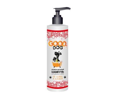 GOOD DOG. «АНТИПАРАЗИТАРНЫЙ» Шампунь для собак и щенков от блох и клещей
