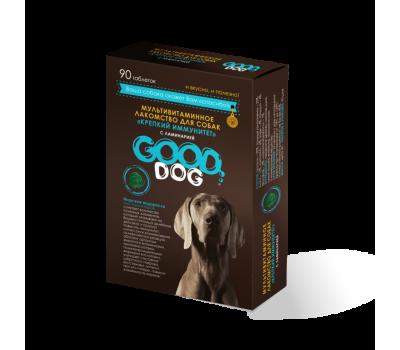 GOOD DOG. КРЕПКИЙ ИММУНИТЕТ. Мультивитаминное лакомство для собак с ламинарией
