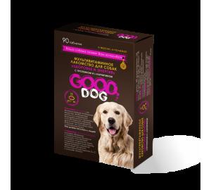 GOOD DOG. ЗДОРОВЬЕ И ЭНЕРГИЯ. Мультивитаминное лакомство для собак с протеином и L-карнитином
