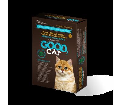 GOOD CAT. «КРЕПКИЙ ИММУНИТЕТ» мультивитаминное лакомство для кошек с ламинарией