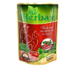 HERBAX. Нежная телятина в соусе с листьями брусники