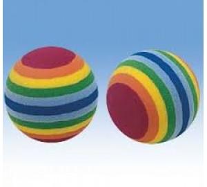 Мяч пробковый цветной