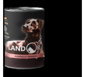 Puppy all breed Turkey&Beef (щенки всех пород индейка с гоядиной консервы 400гр)