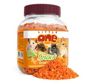 Little One. Сушеная морковь. Лакомство для всех видов грызунов