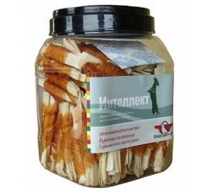 GreenQzin . ИНТЕЛЛЕКТ (Сушеное утиное мясо на сурими) 750 гр