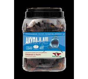 GreenQzin. АКУЛА (сушеное мясо акулы) 750 гр