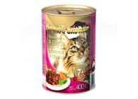 «Ночной охотник» - консервированные корма для кошек старше 7 лет