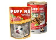 «PUFFINS» - кусочки в соусе