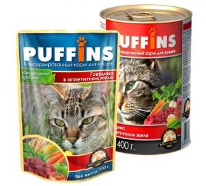PUFFINS. Говядина в аппетитном желе