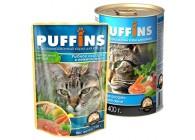 «PUFFINS» - кусочки в желе