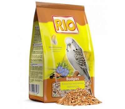 RIO. Корм для волнистых попугайчиков в период линьки