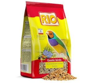 RIO. Корм для экзотических птиц (амадины и т.п.)
