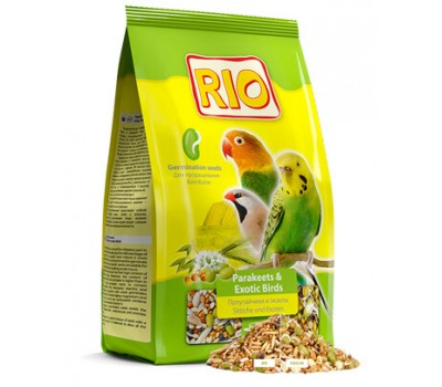 RIO. Корм для попугаев и экзотических птиц. Рацион для проращивания
