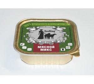 Мяской микс (консервы 100гр)